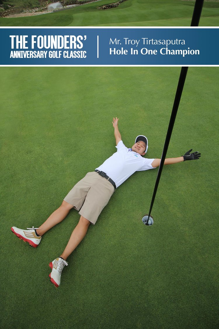 The Founders' Anniversary Golf Classic Hole in one Champion